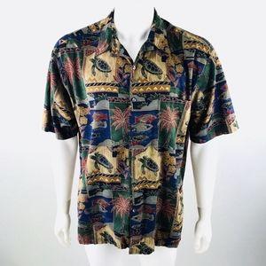 Tori Richard  Short Sleeve Hawaiian Shirt L